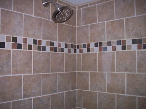 bathroom after being remodeled